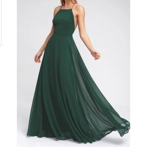 merald Green Mythical Kind of Love Dress
